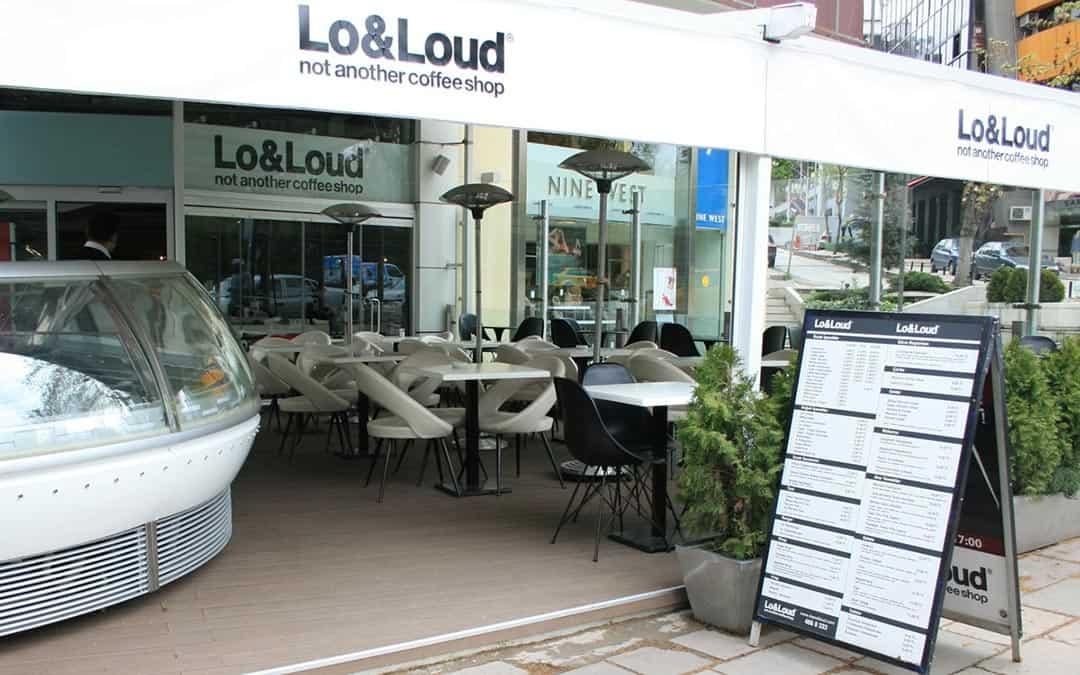 Lo&Loud Cafe Dış Mekan Yer Döşemesi