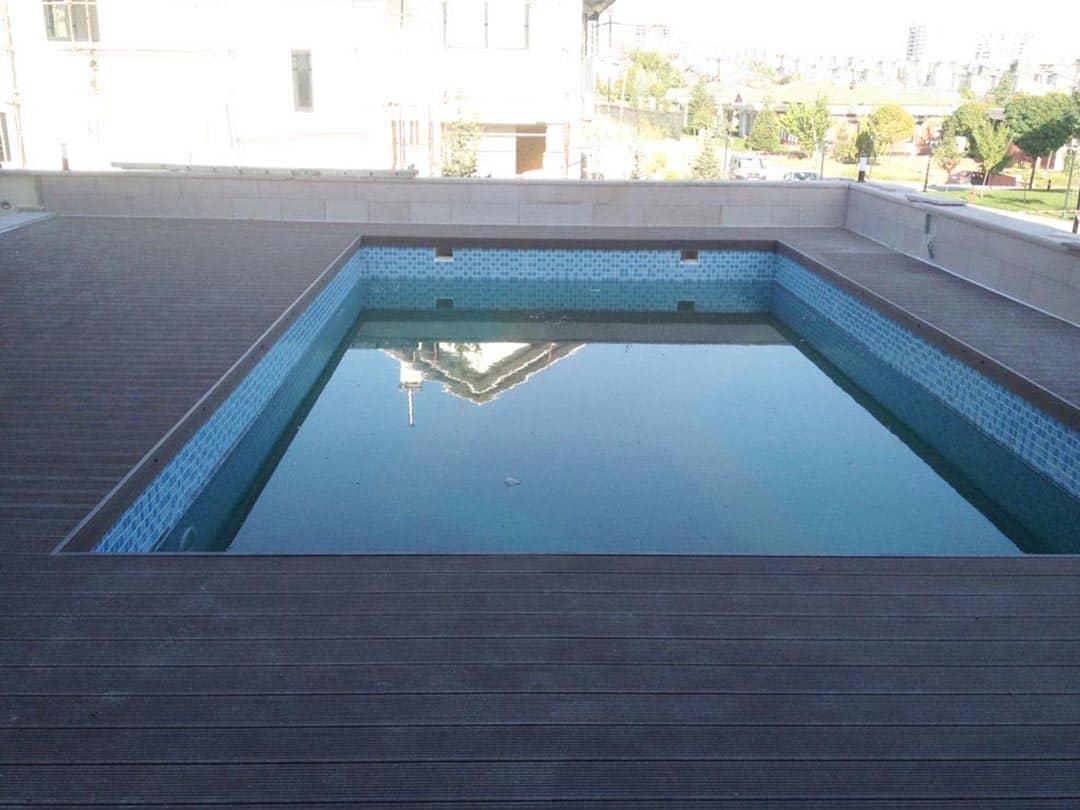 Havuz Kenarı Zemin Kaplaması